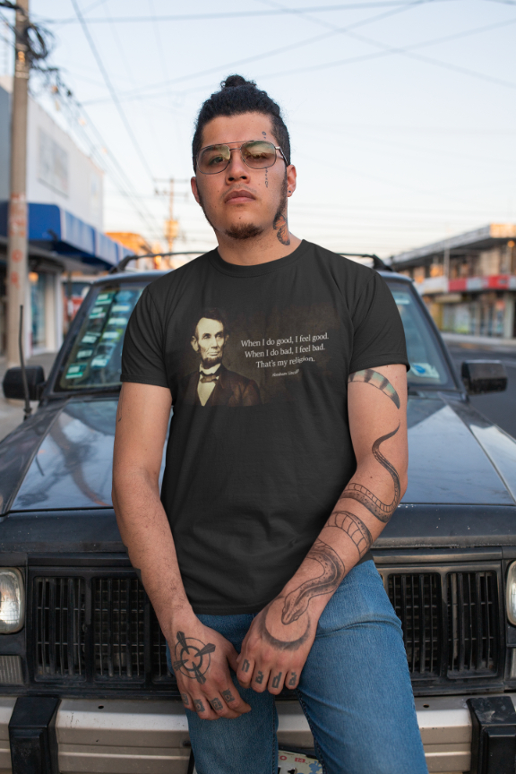 Abraham Lincoln T-Shirt - Quote: Do Good