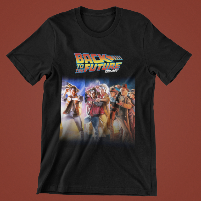 Back to the Future T-Shirt - The Trilogy