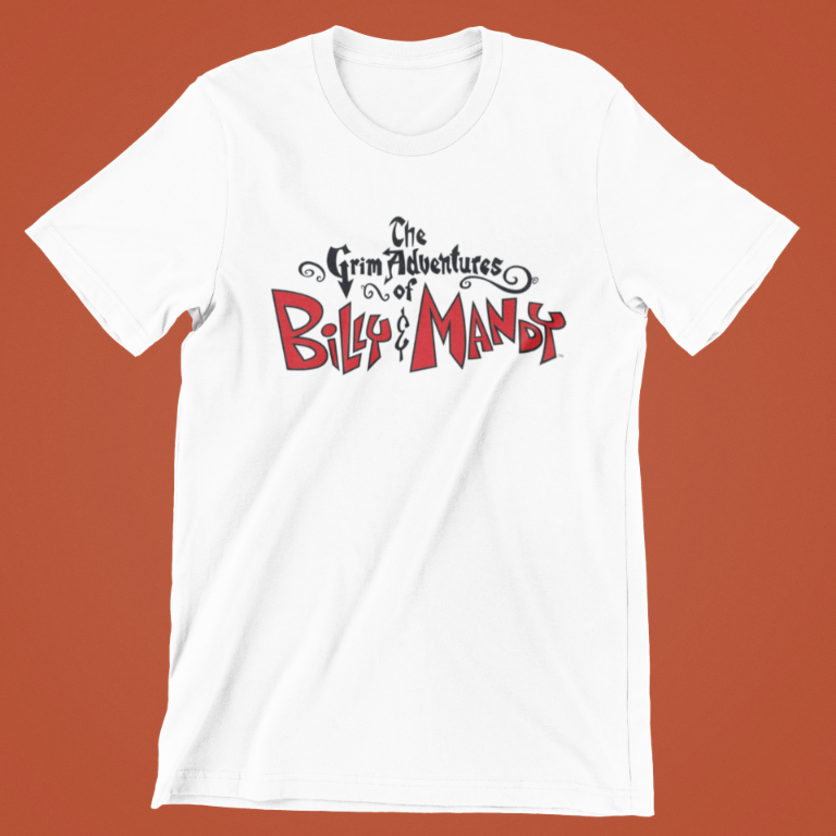 The Grim Adventures of Billy & Mandy T-Shirt - Logo