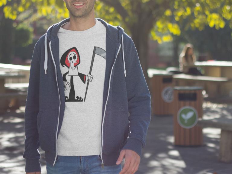 The Grim Adventures of Billy & Mandy T-Shirt - Grim Reaper